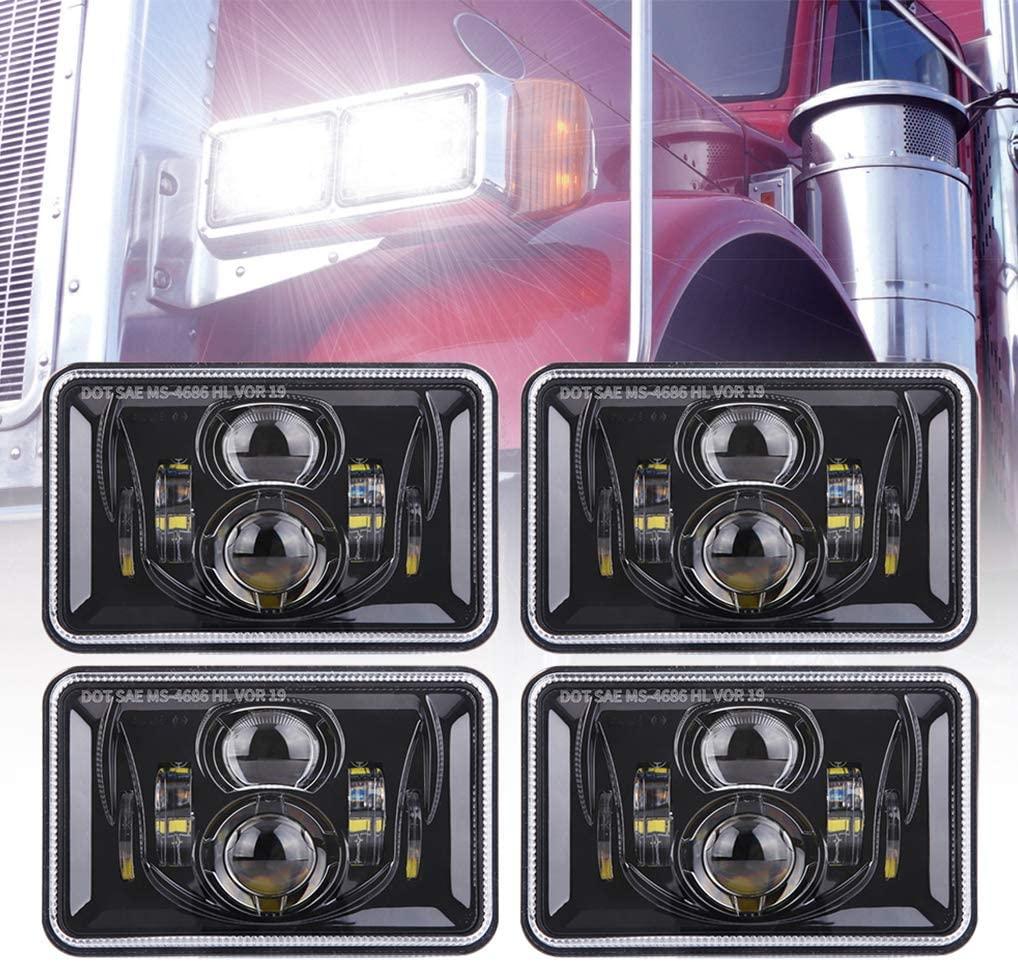 Led 4X6 Headlights
