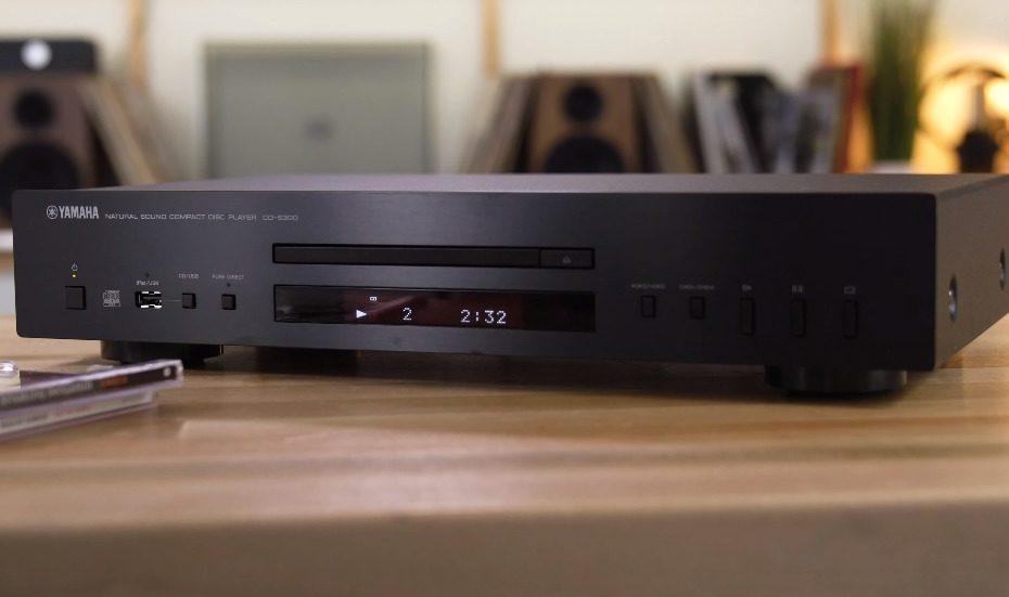 Yamaha CD-S300 single-disc CD player with USB port